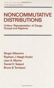 Noncommutative Distributions (Pure and Applied Mathematics)