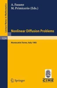 Nonlinear Diffusion Problems
