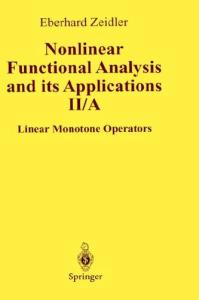 Nonlinear functional analysis and its applications. Linear monotone operators