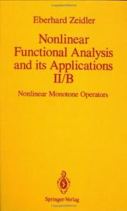 Nonlinear functional analysis and its applications. Nonlinear monotone operators