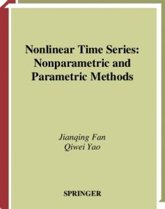 Nonlinear time series: Nonparametric and Parametric Methods