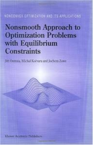 Nonsmooth approach to optimization problems with equilibrium