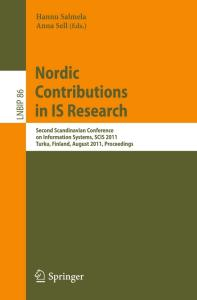 Nordic Contributions in IS Research - SCIS 2011