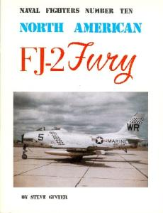 North American FJ-2 Fury (Naval Fighters Series No 10)