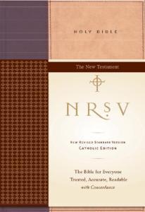 NRSV Catholic Edition Bible Anglicized--New Testament