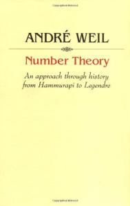 Number theory: an approach through history. From Hammurapi to Legendre