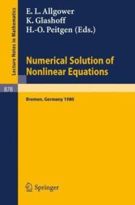 Numerical Solution of Nonlinear Equations