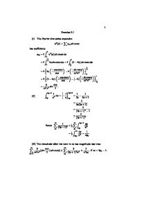 Numerical Solution of Partial Differential Equations solution manual
