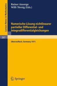 Numerische Losung nichtlinearer partieller Differential- und Integrodifferentialgleichungen