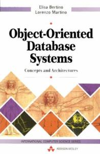Object- Oriented Database Systems: Concepts and Architectures