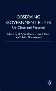 Observing Government Elites: Up Close and Personal