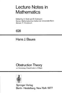 Obstruction theory on homotopy classification of maps