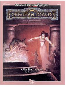 Old Empires (Advanced Dungeons & Dragons Forgotten Realms Accessory FR10)