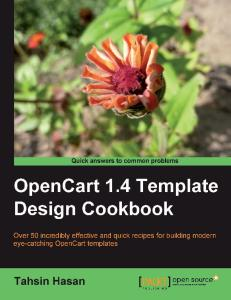 OpenCart 1.4 Template Design Cookbook