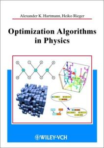 Optimization Algorithms In Physics