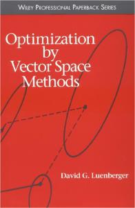 Optimization by Vector Space Methods (Wiley Professional)