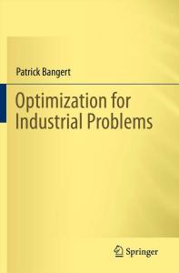 Optimization for Industrial Problems