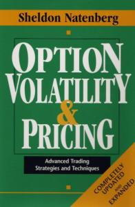 option Volatility & Pricing - Advanced Trading Strategies And Techniques