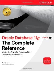 Oracle database 11g : the complete reference