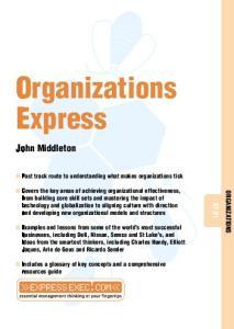 Organizations Express (Express Exec)
