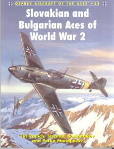 Osprey-Aircraft of the Aces Series 058.Slovakian and Bulgarian Aces of World War 2