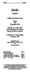 Otello (The Opera Journeys Mini Guide Series)
