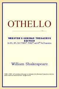 Othello (Webster's German Thesaurus Edition)