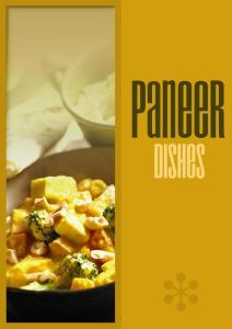 Paneer Recipes (Indian Cheese)  (Cookbook)