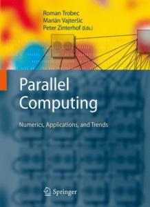 Parallel Computing: Numerics, Applications, and Trends