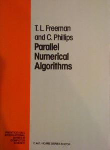 Parallel Numerical Algorithms (Prentice-Hall International Series in Computer Science)