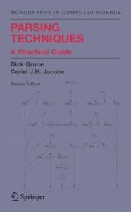 Parsing Techniques: A Practical Guide