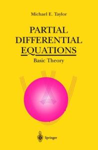 Partial Differential Equations. Basic theory