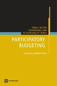 Participatory Budgeting (Public Sector Governance)