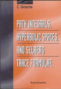 Path integrals, hyperbolic spaces, and Selberg trace formulae