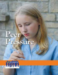 Peer Pressure (Issues That Concern You)