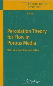 Percolation Theory for Flow in Porous Media