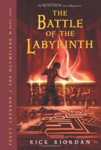 Percy Jackson and the Olympians 4 The Battle of the Labyrinth