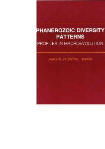 Phanerozoic Diversity Patterns: Profiles in Macroevolution (Princeton Series in Geology and Palentology)