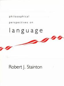 Philosophical Perspectives on Language