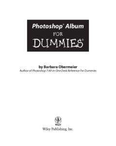 Photoshop Album for Dummies