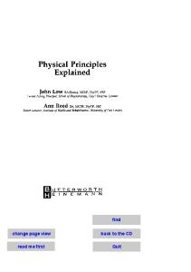 Physical Principles Explained (Physiotherapy Practice Explained)