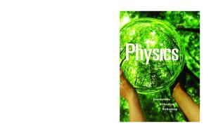 Physics, 2nd Edition