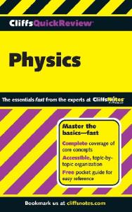 Physics (Cliffs Quick Review)