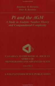 Pi and the AGM. Analytic number theory and computational complexity
