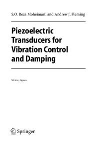 Piezoelectric Transducers for Vibration Control & Damping