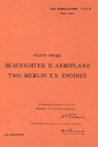 Pilots Notes Beaufighter II With Two Merlin XX