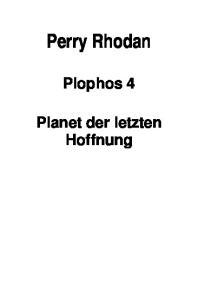 Planet der letzten Hoffnung