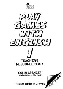 Play Games with English (Heinemann Games)