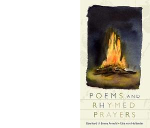 Poems and Rhymed Prayers