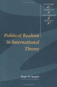 Political Realism in International Theory (Cambridge Studies in International Relations)